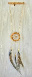 Mini Dream Catcher Necklace