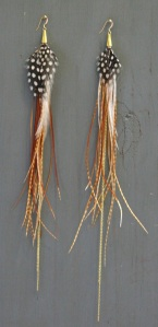 Boho Feather Earrings that suit any outfit.