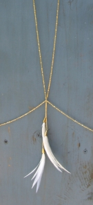 White Fox Body Chain